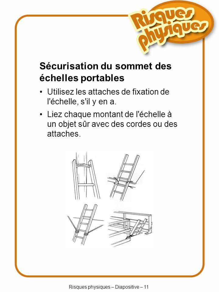 Risques physiques – Diapositive – 11