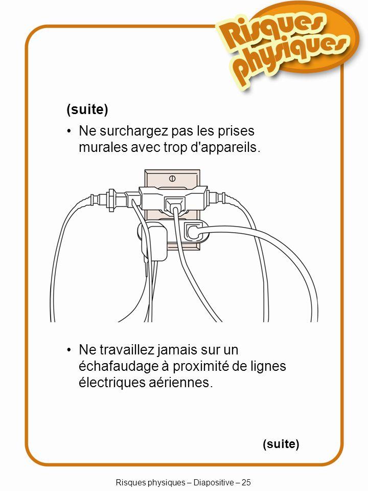 Risques physiques – Diapositive – 25