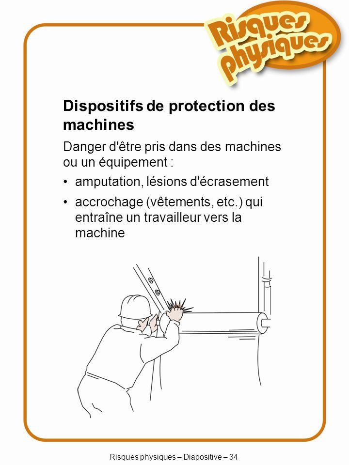Risques physiques – Diapositive – 34