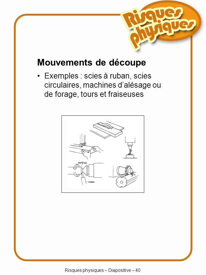 Risques physiques – Diapositive – 40