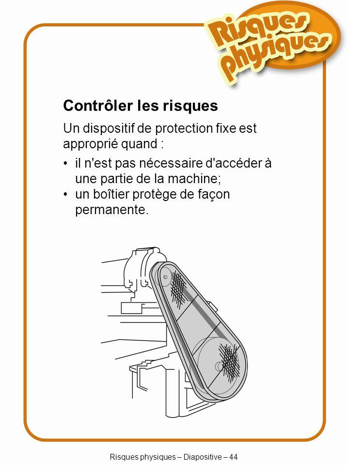 Risques physiques – Diapositive – 44