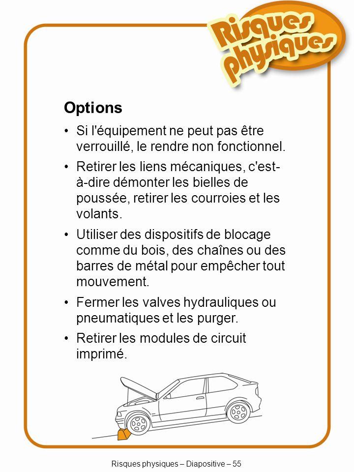 Risques physiques – Diapositive – 55