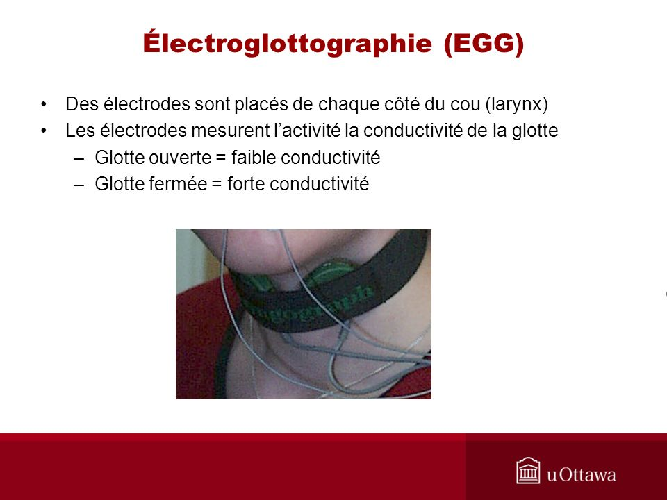 Électroglottographie (EGG)