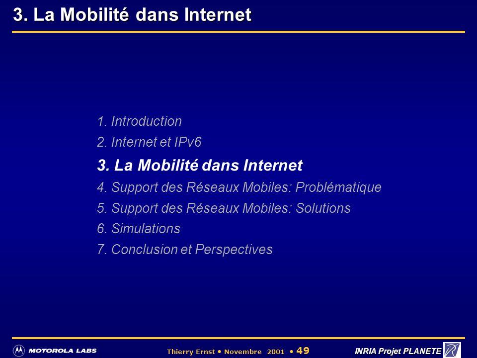 3. La Mobilité dans Internet