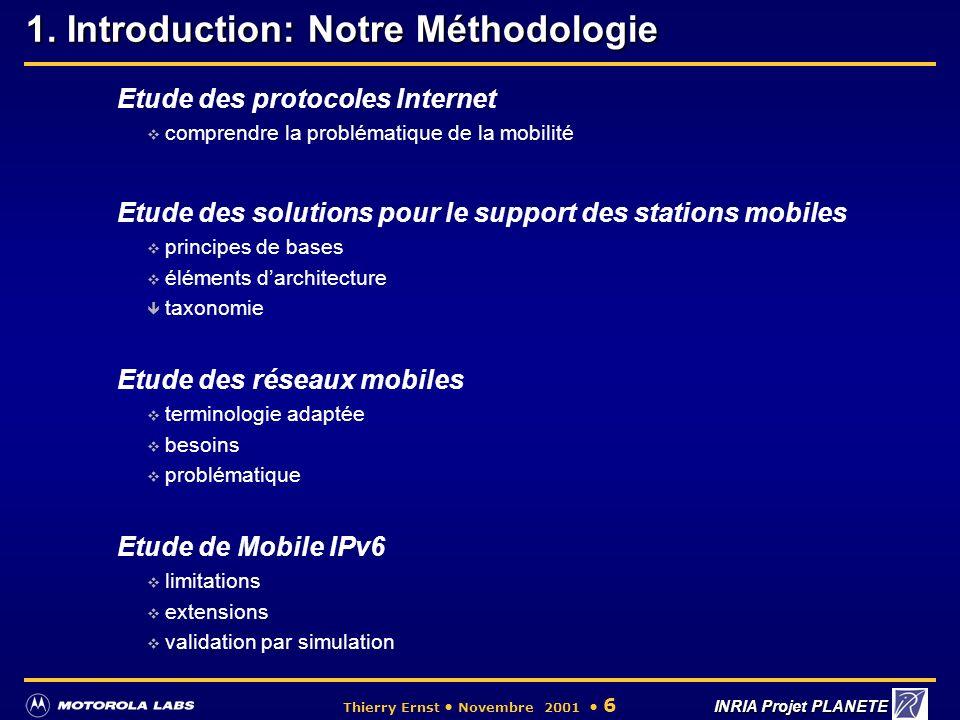 1. Introduction: Notre Méthodologie