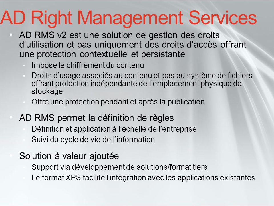 AD Right Management Services