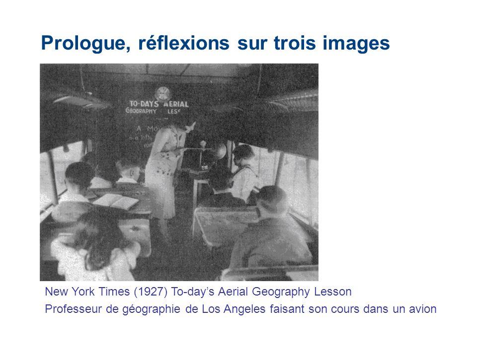 Prologue, réflexions sur trois images