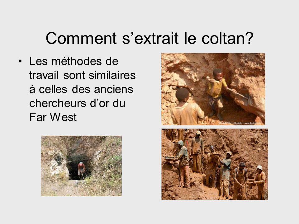 Comment s'extrait le coltan