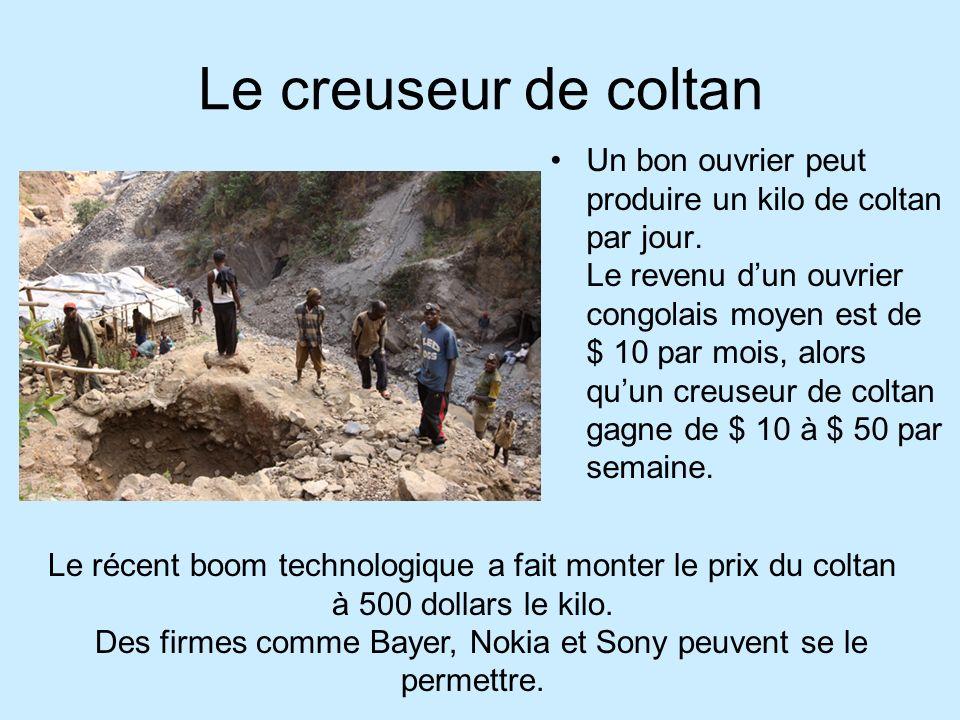 Le creuseur de coltan