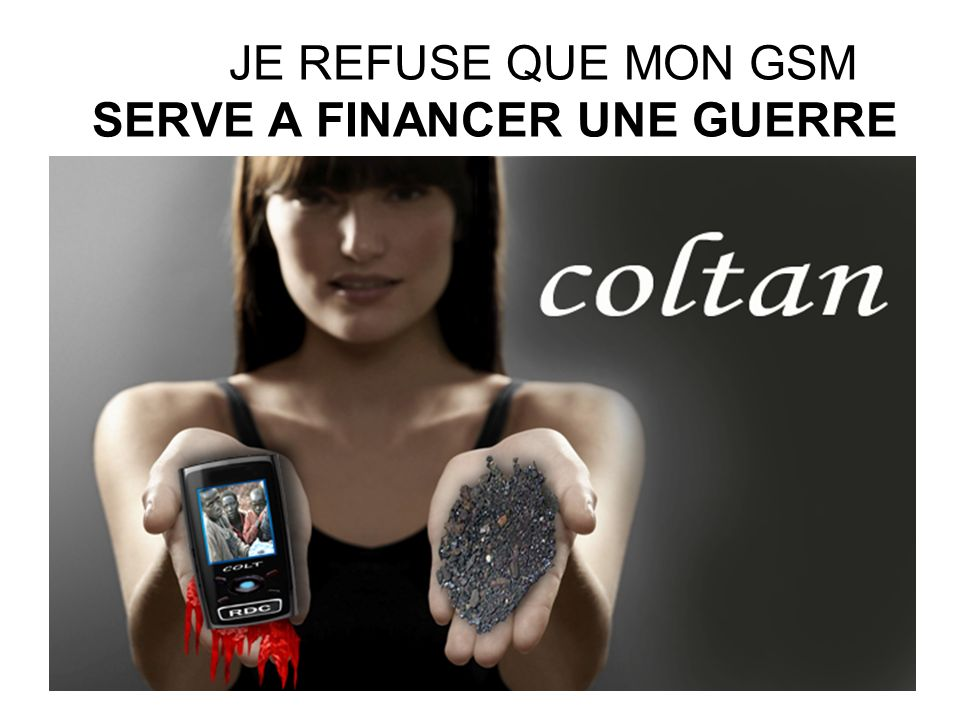 JE REFUSE QUE MON GSM SERVE A FINANCER UNE GUERRE