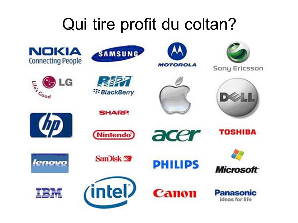Qui tire profit du coltan