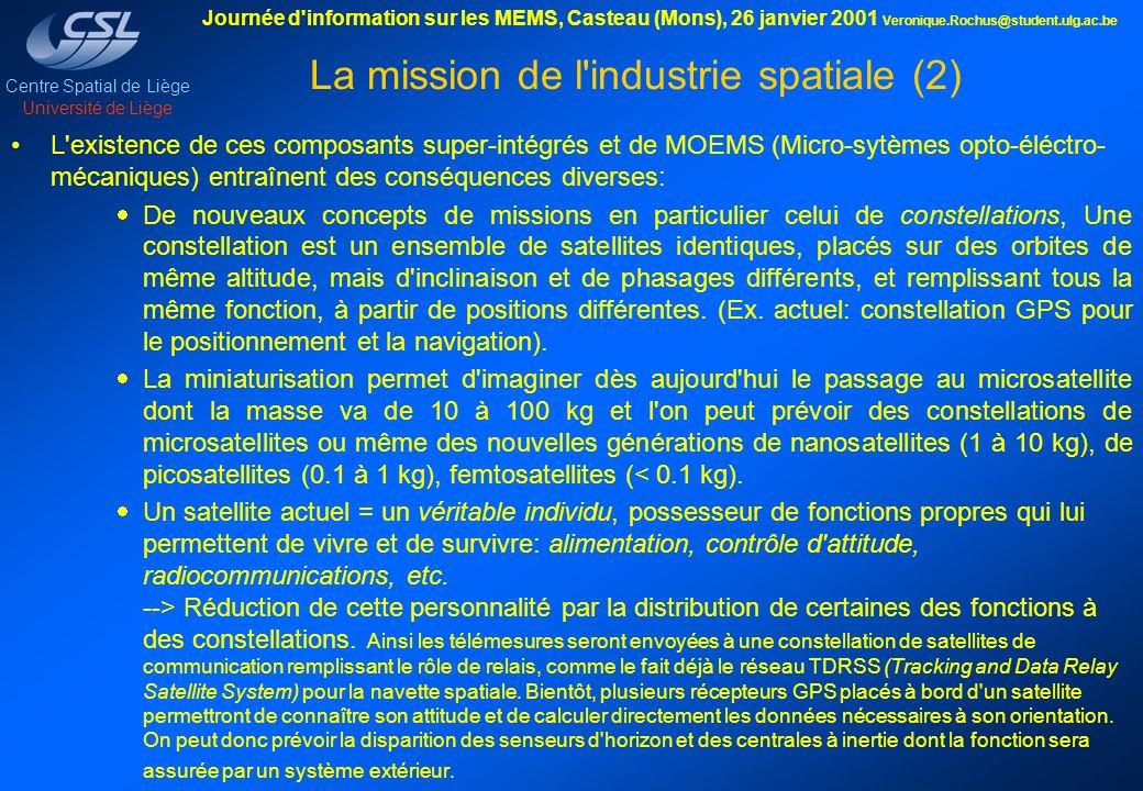 La mission de l industrie spatiale (2)