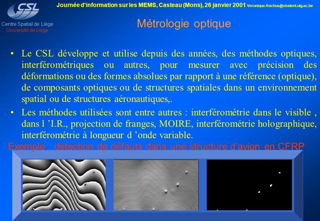 Métrologie optique