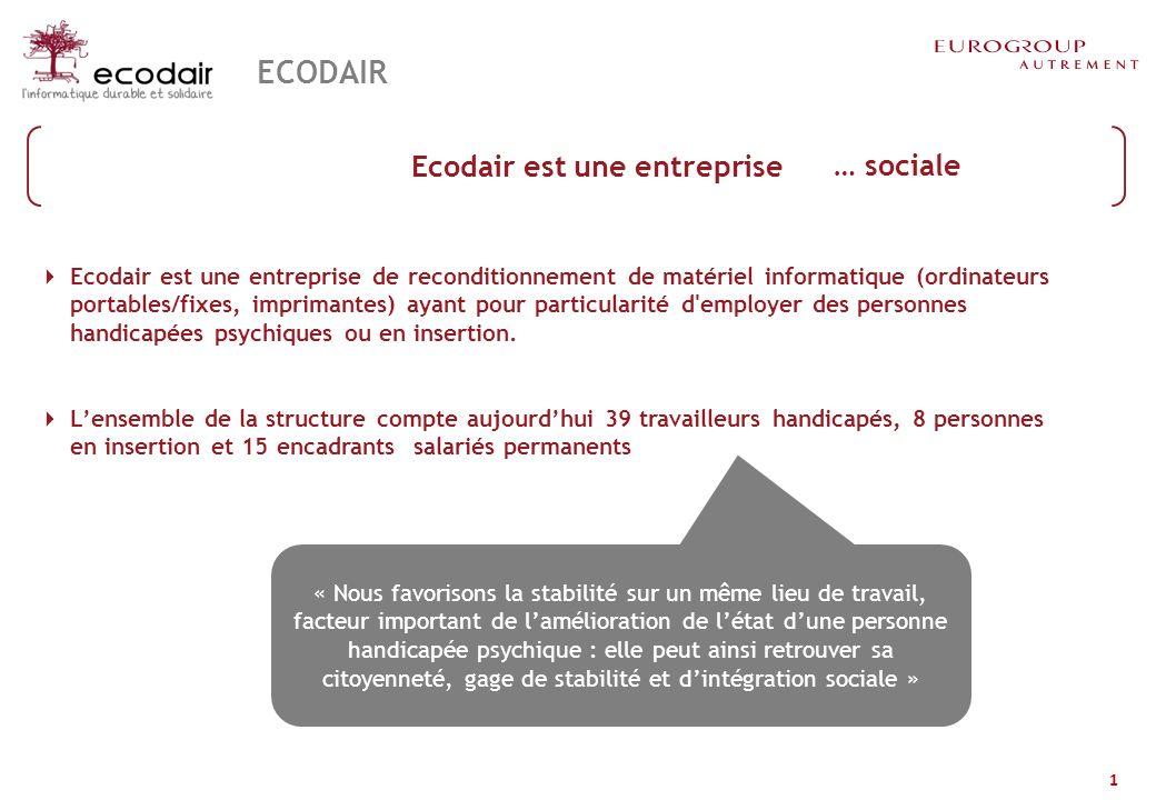 Actions et objectifs d'ECODAIR