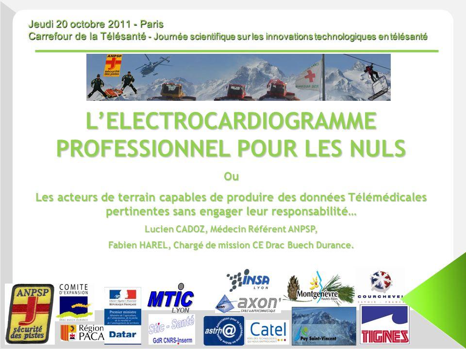 L'ELECTROCARDIOGRAMME PROFESSIONNEL POUR LES NULS