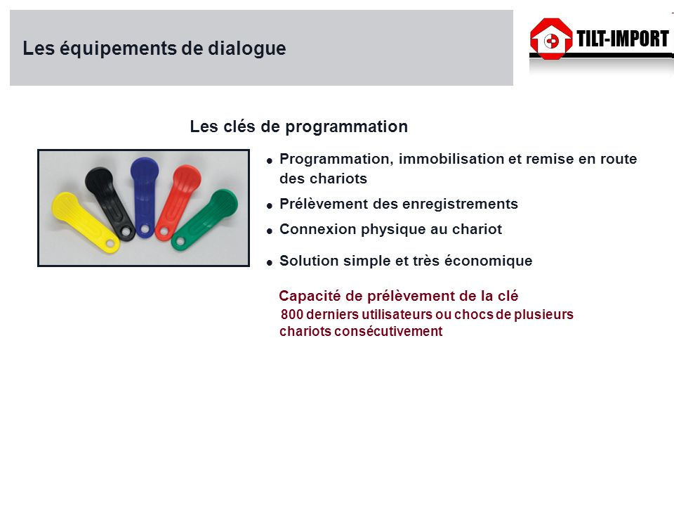 Les équipements de dialogue