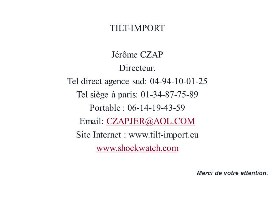 Tel direct agence sud: 04-94-10-01-25