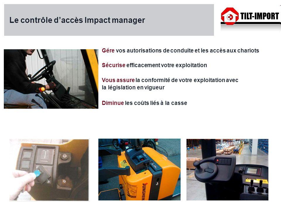 Le contrôle d'accès Impact manager