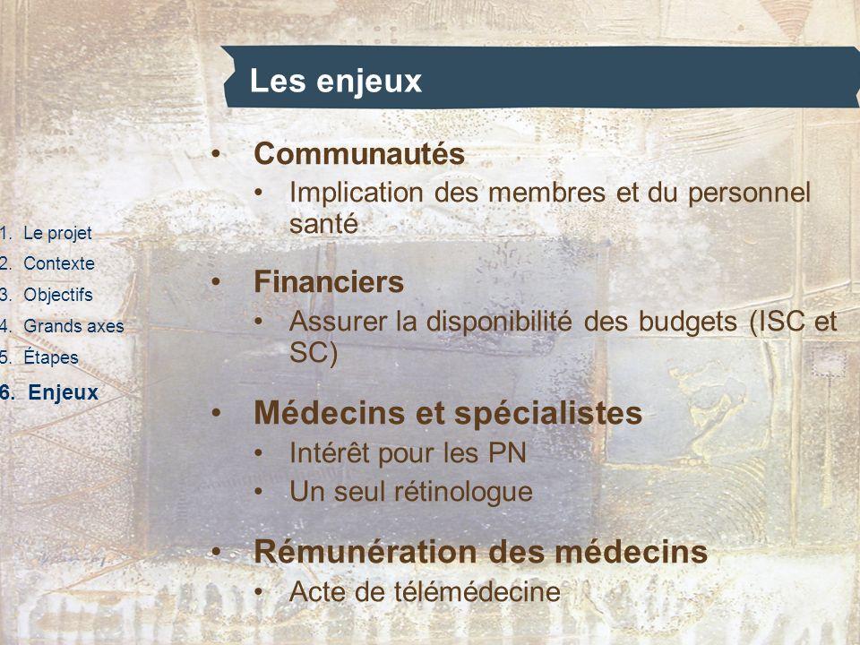 Médecins et spécialistes