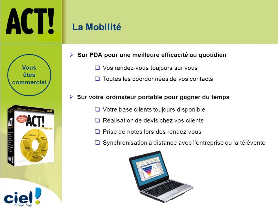 La Mobilité Sur PDA pour une meilleure efficacité au quotidien