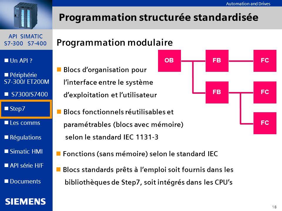 Programmation structurée standardisée