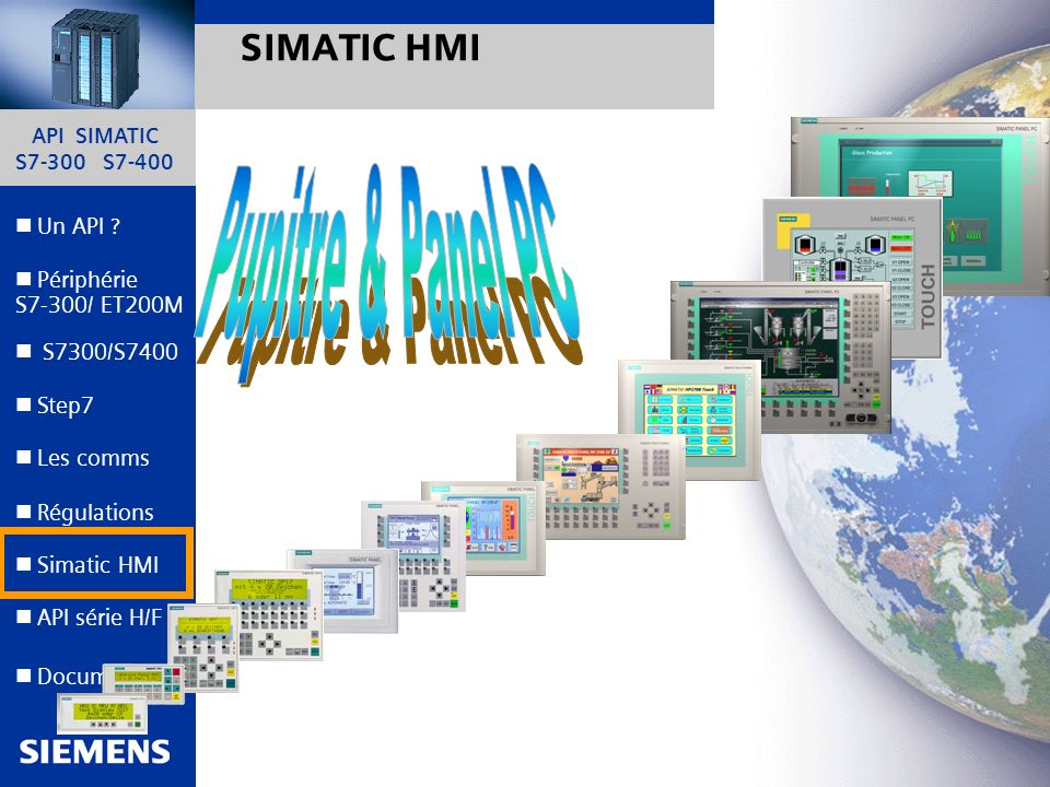 Pupitre & Panel PC SIMATIC HMI