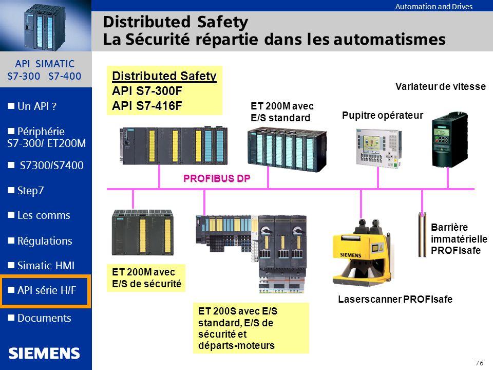 Distributed Safety La Sécurité répartie dans les automatismes