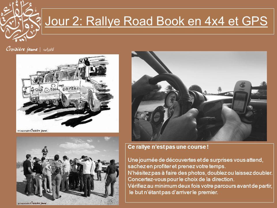 Jour 2: Rallye Road Book en 4x4 et GPS