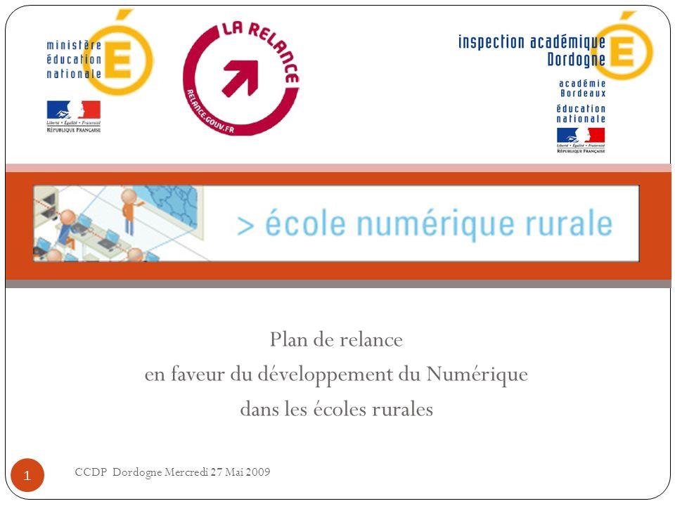 en faveur du développement du Numérique dans les écoles rurales