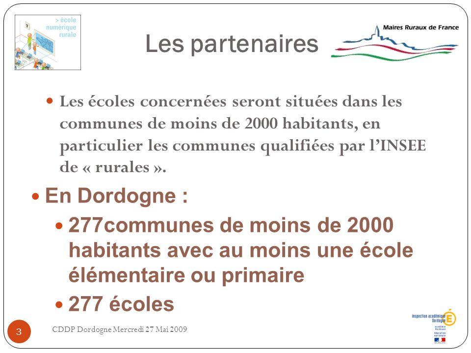 Les partenaires En Dordogne :