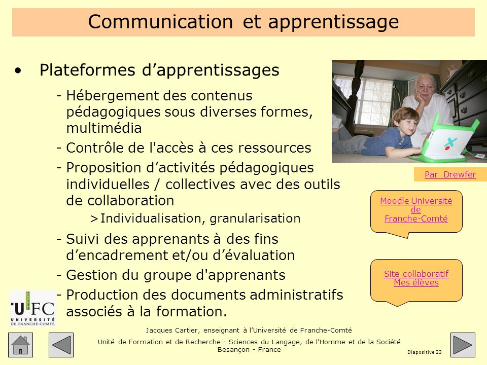 Communication et apprentissage