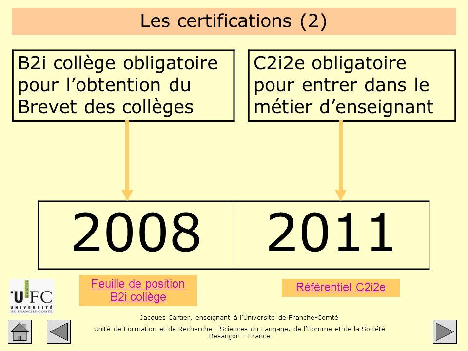 Feuille de position B2i collège