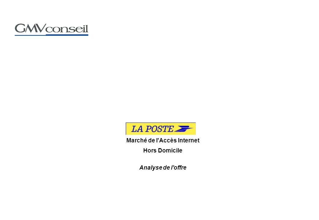 Marché de l Accès Internet Hors Domicile Analyse de l offre