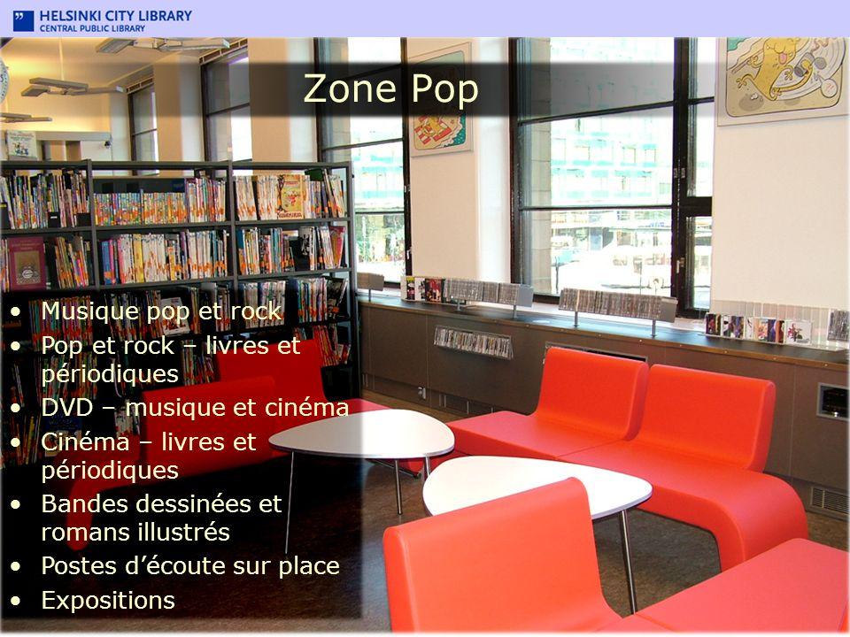 Zone Pop Musique pop et rock Pop et rock – livres et périodiques