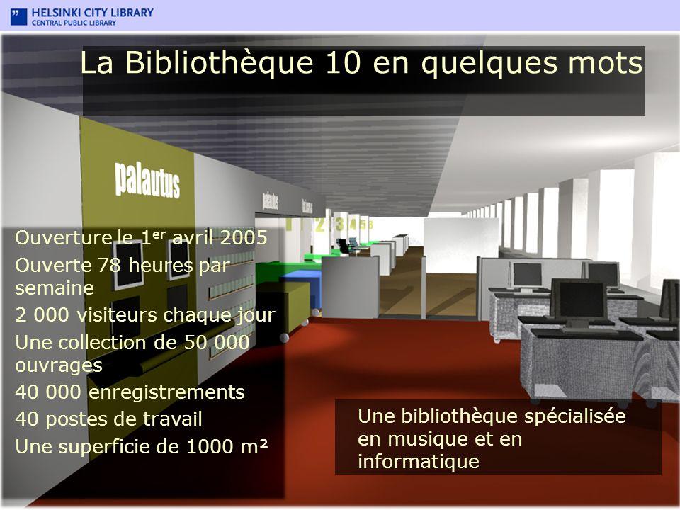 La Bibliothèque 10 en quelques mots