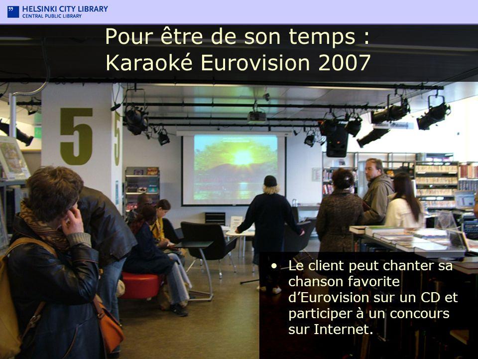 Pour être de son temps : Karaoké Eurovision 2007