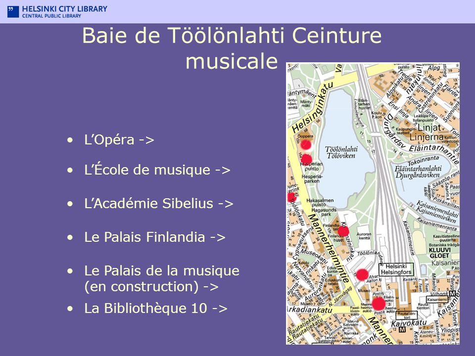 Baie de Töölönlahti Ceinture musicale