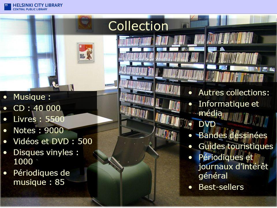 Collection Autres collections: Musique : Informatique et média