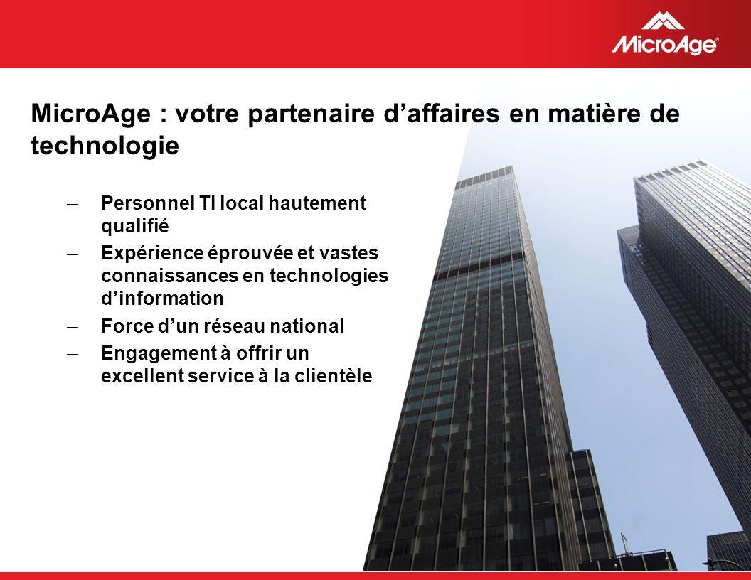 MicroAge : votre partenaire d'affaires en matière de technologie