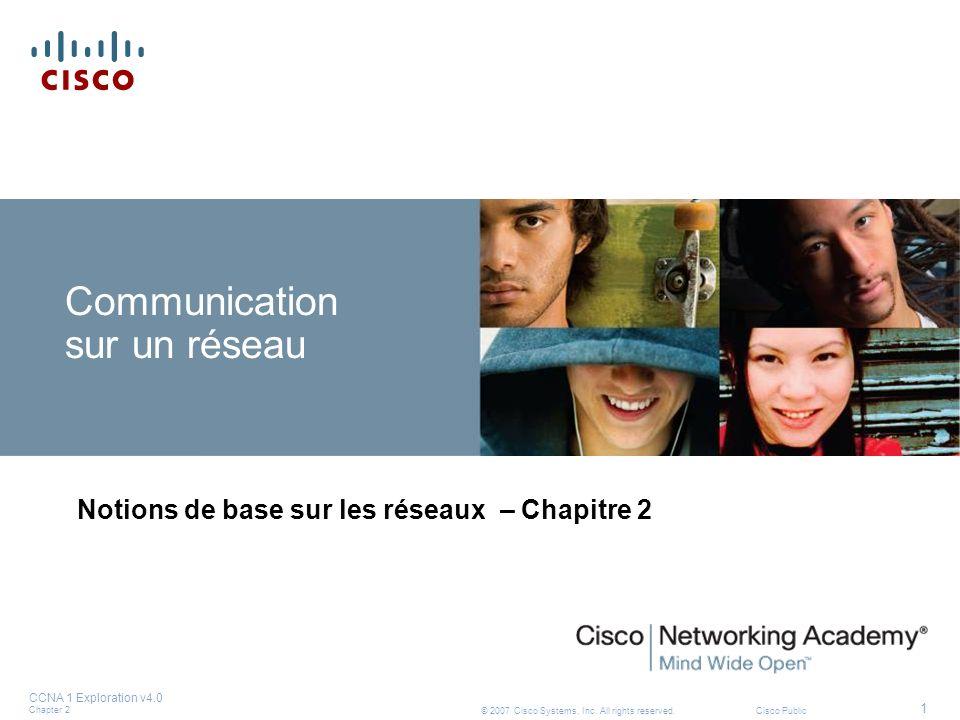 Communication sur un réseau