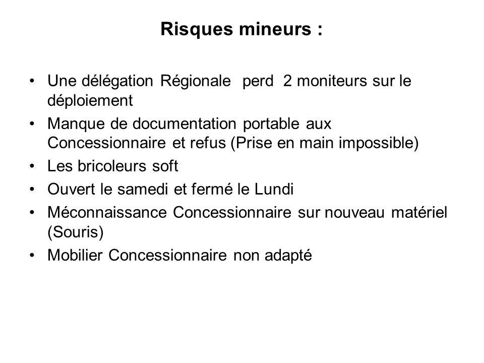 Risques mineurs : Une délégation Régionale perd 2 moniteurs sur le déploiement.