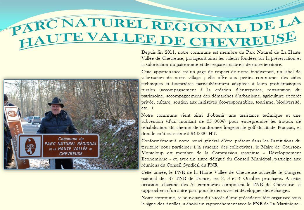 PARC NATUREL REGIONAL DE LA HAUTE VALLEE DE CHEVREUSE