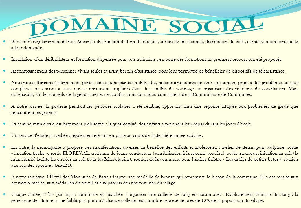 DOMAINE SOCIAL conseil municipal des jeunes les olives