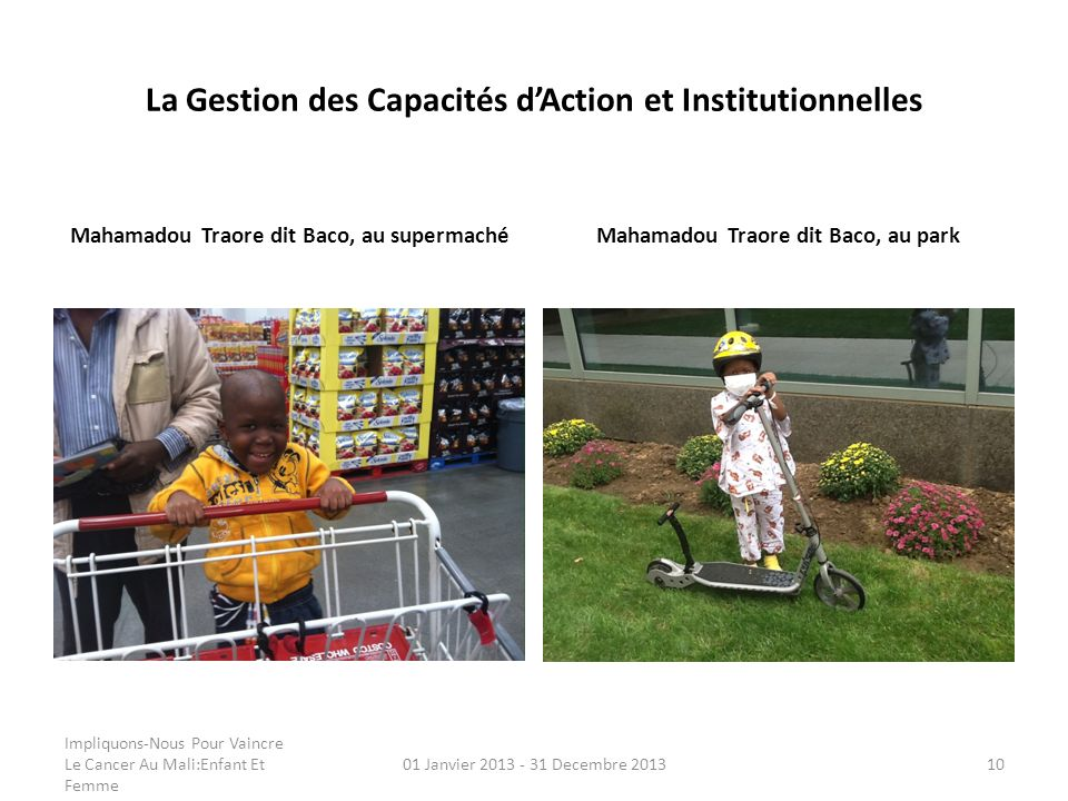 La Gestion des Capacités d'Action et Institutionnelles