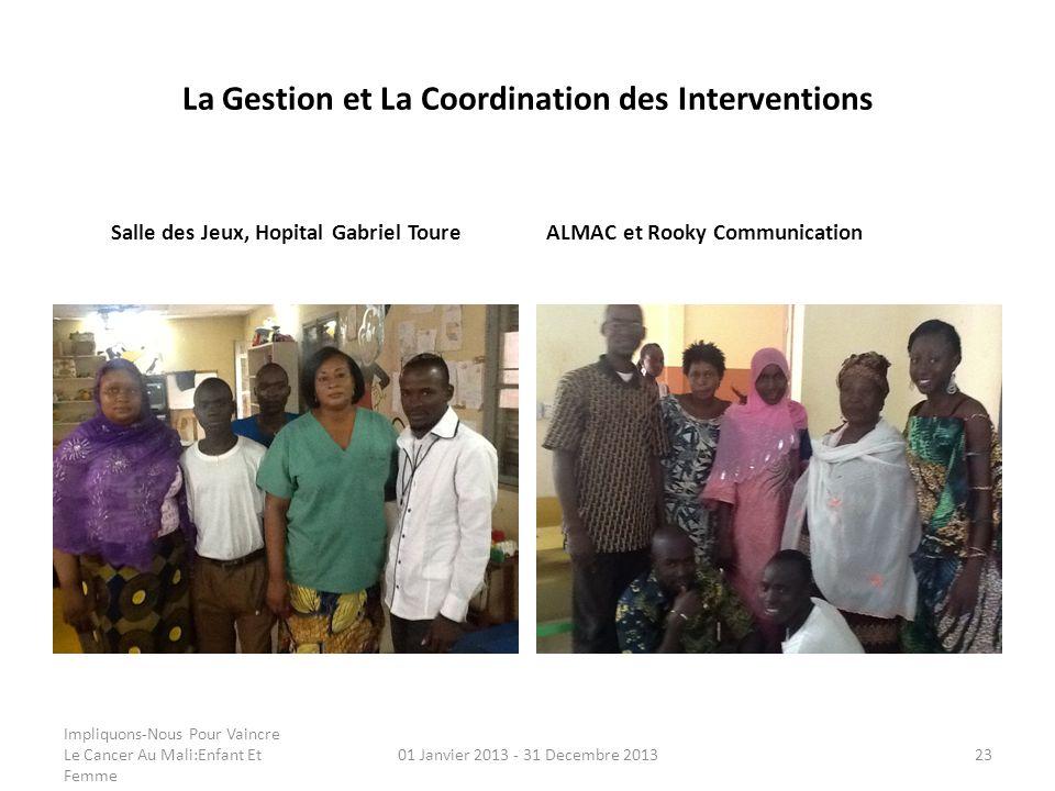 La Gestion et La Coordination des Interventions