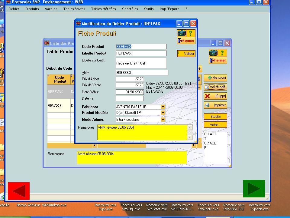 Gestion d'un produit www.estavoyer.com