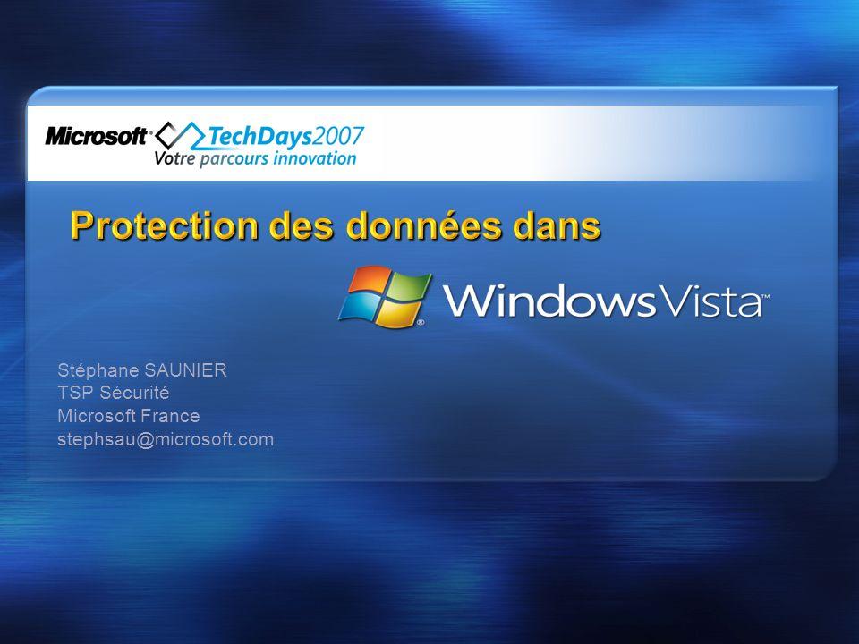 Protection des données dans