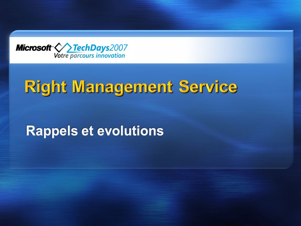 Right Management Service
