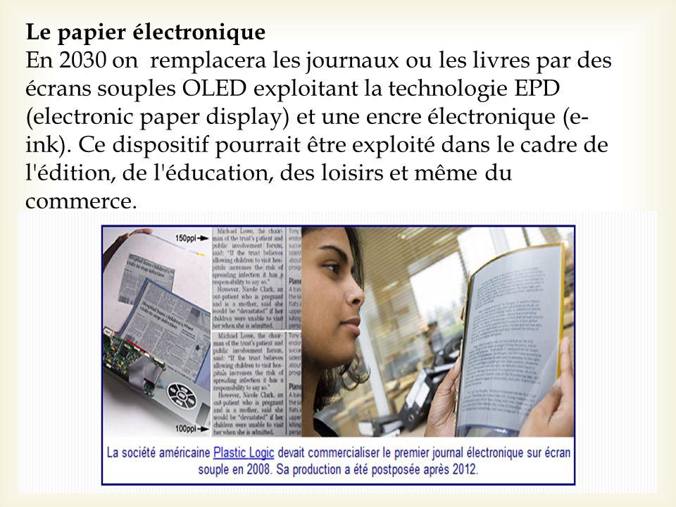 Le papier électronique