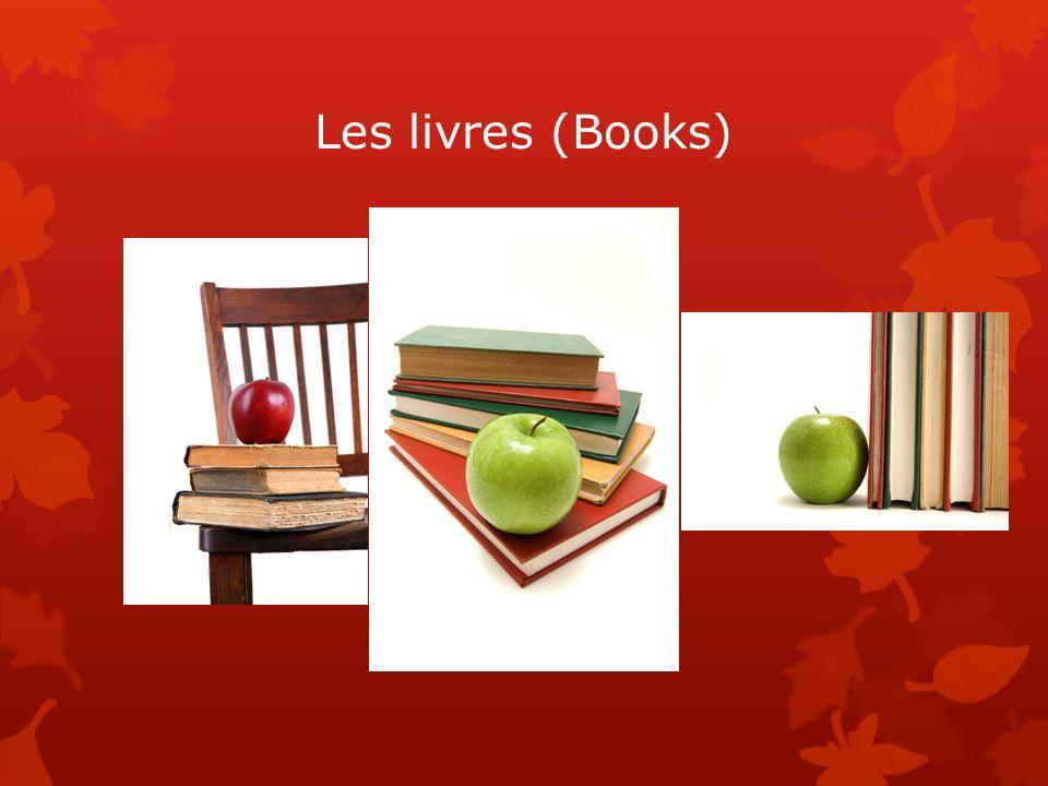 Les livres (Books)